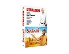 l'italien + safari (coffret 2 dvd)